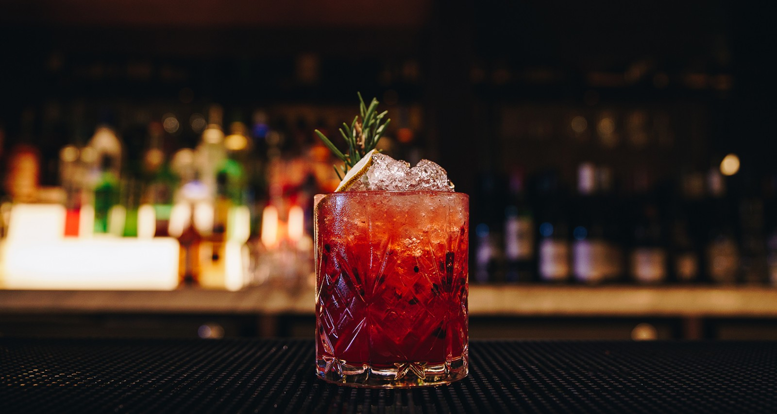 Blackberry and Rosemary Fizz