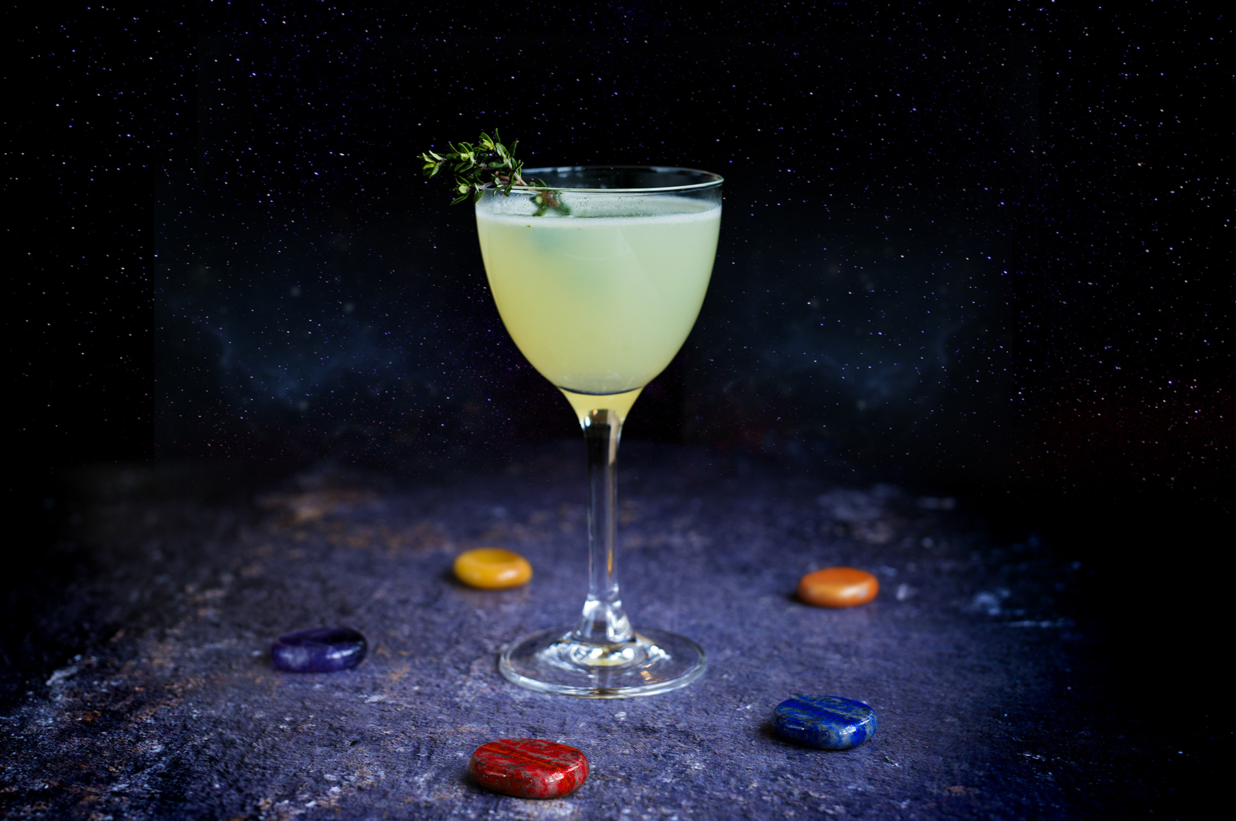 Thyme Stone cocktail