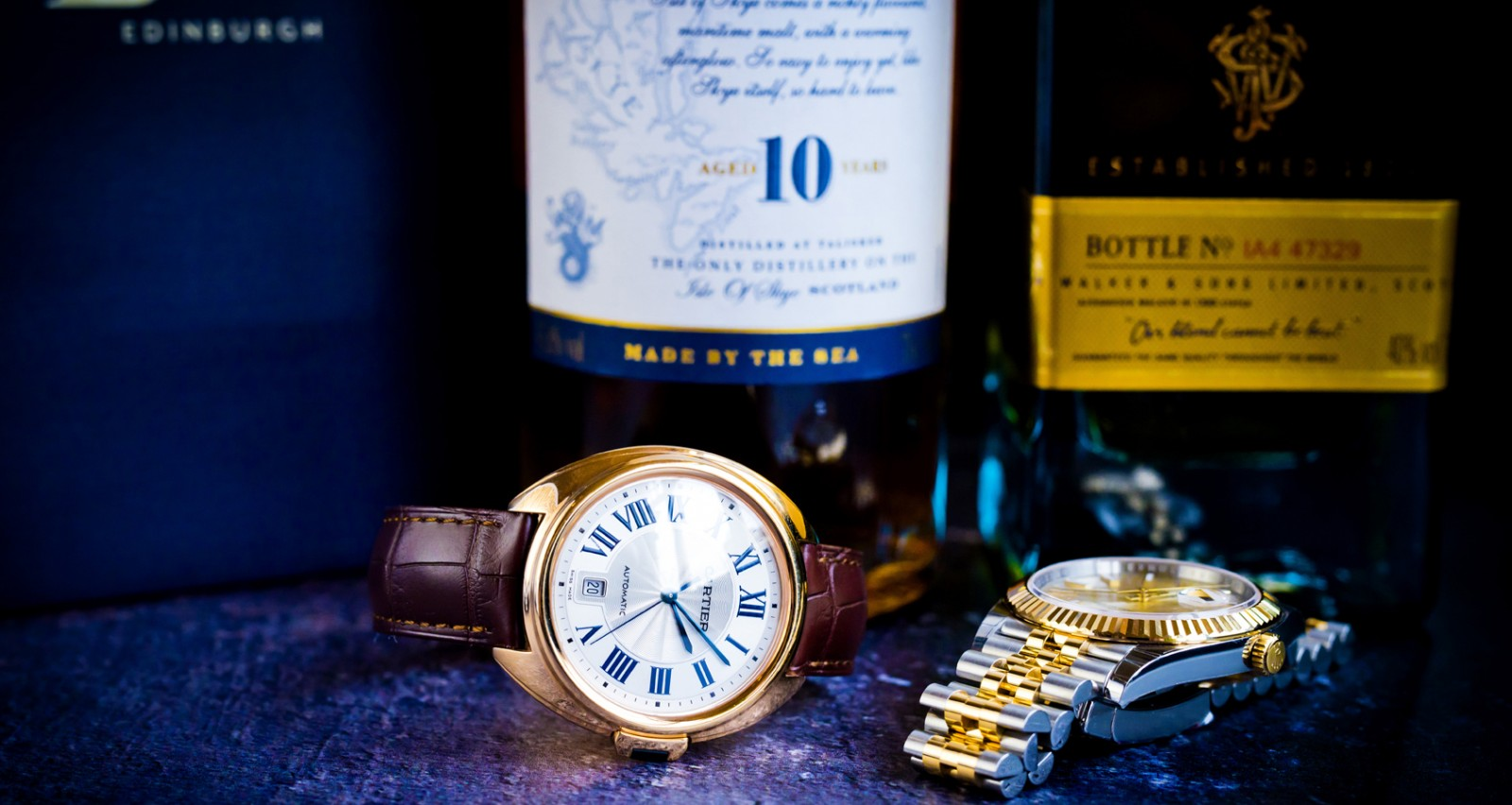 Whisky and watches event